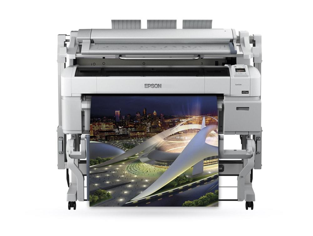 Ploter ali tiskalnik za velike formate