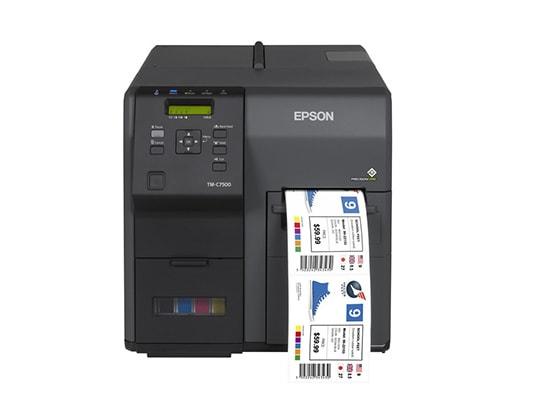 tiskalnik nalepk Epson ColorWorks-C7500