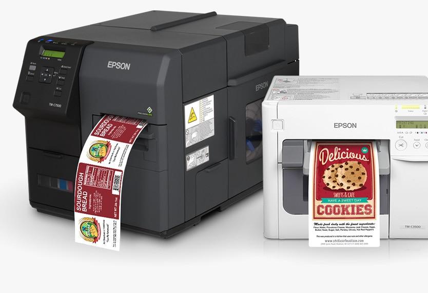 Tiskalnik nalepk Epson