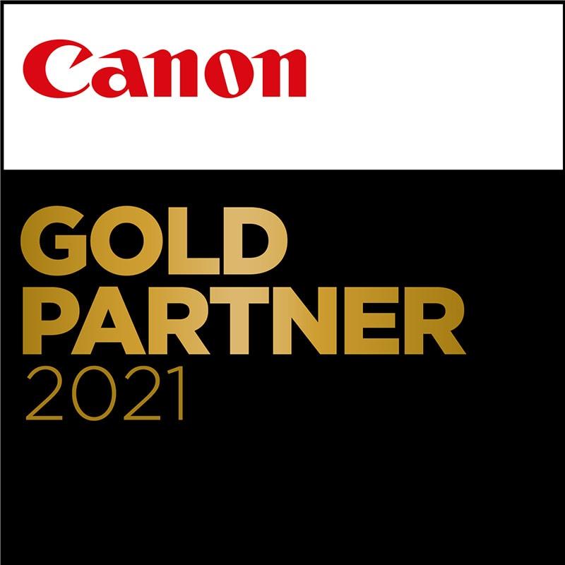 Canon GoldPartner certifikat